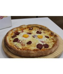 Pizza Breakfast Time